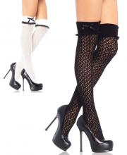 6900 Leg Avenue, Crocheted over the knee socks with turn over cuff